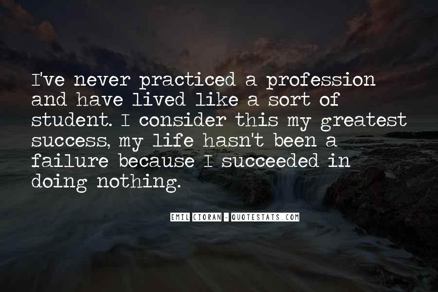 I'm Doing Nothing Quotes #9073