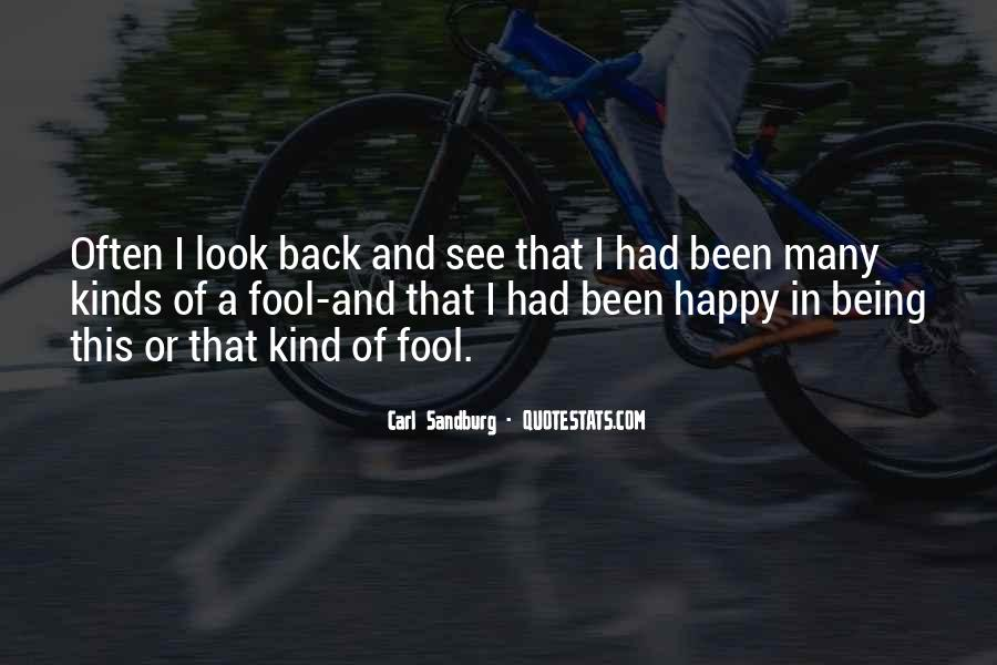 I'm Done Being A Fool Quotes #43203