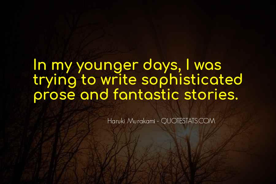 Quotes About Fantastic Days #1567496