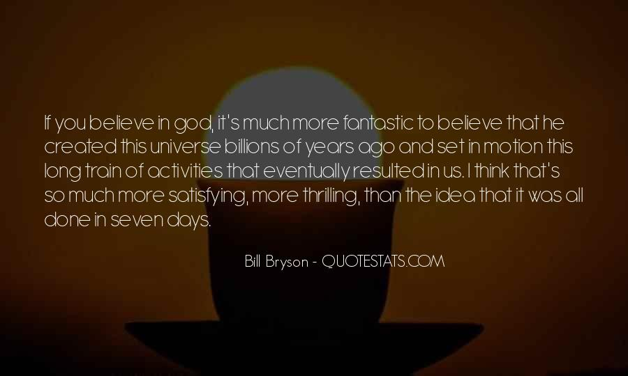 Quotes About Fantastic Days #41861