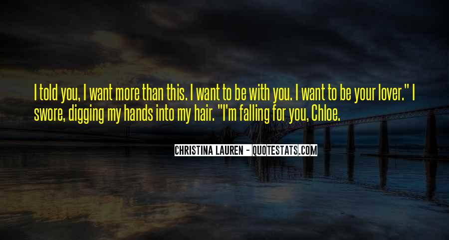 I'm Falling For You Quotes #1018265