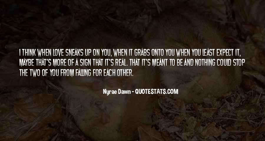 I'm Falling For You Quotes #714154