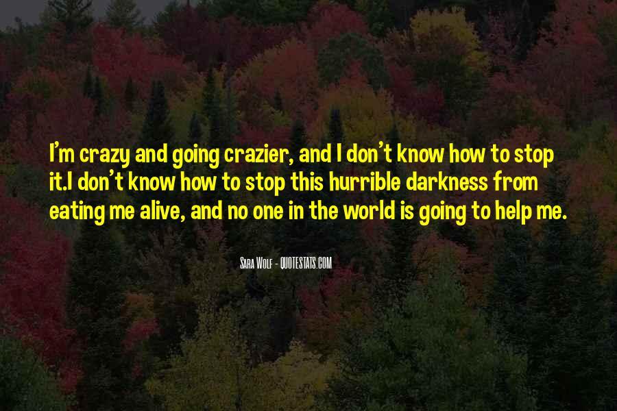 I'm Going Crazy Quotes #1046734
