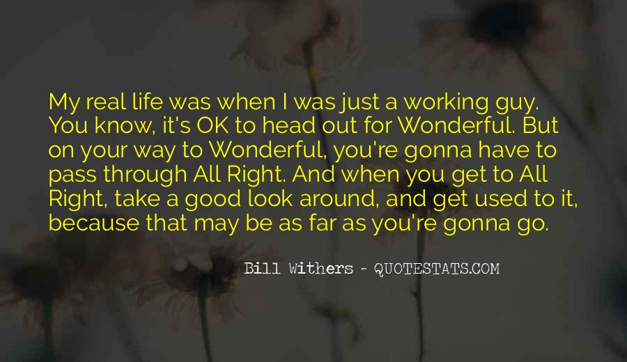 I'm Gonna Be Ok Quotes #1850167