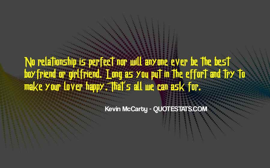 I'm Happy With My Boyfriend Quotes #44059