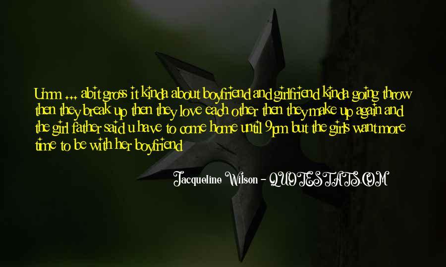 I'm Happy With My Boyfriend Quotes #669285