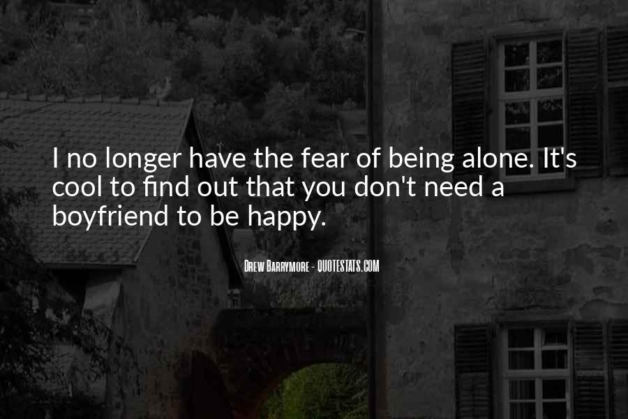 I'm Happy With My Boyfriend Quotes #803138
