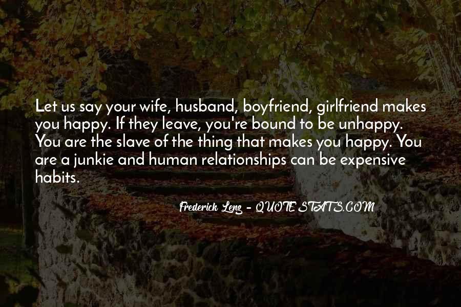 I'm Happy With My Boyfriend Quotes #974892