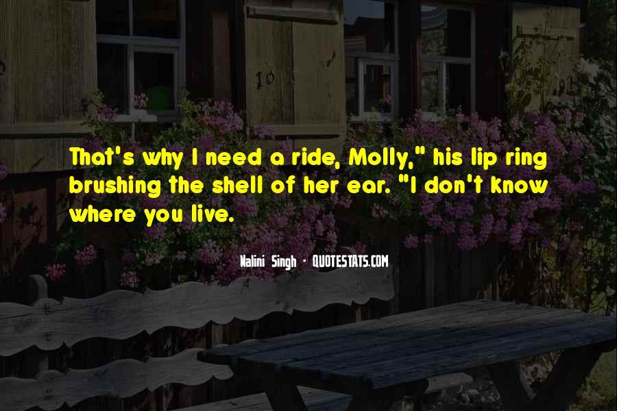 I'm His Ride Quotes #314638