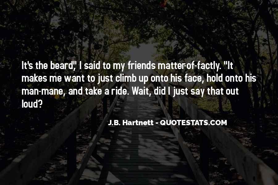I'm His Ride Quotes #417747