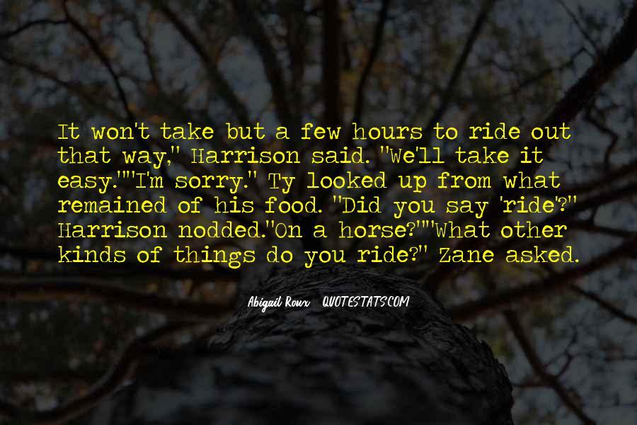 I'm His Ride Quotes #564024