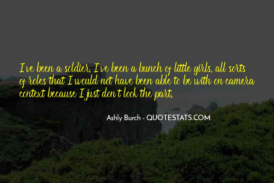 I'm Just A Little Girl Quotes #1558449