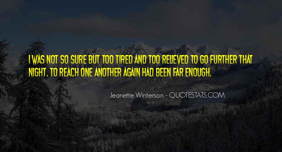 I'm Just Too Tired Quotes #35