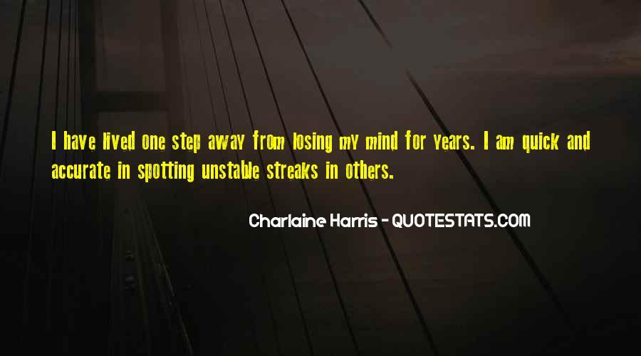 I'm Losing My Mind Quotes #1119292
