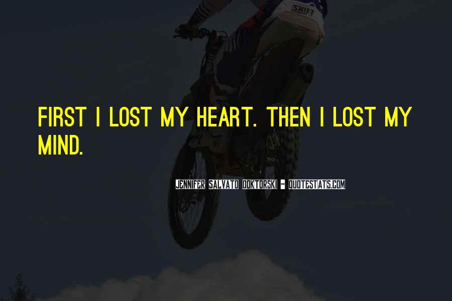 I'm Losing My Mind Quotes #1824138