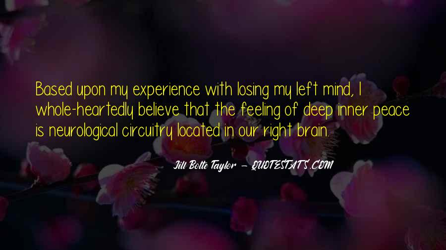 I'm Losing My Mind Quotes #599168