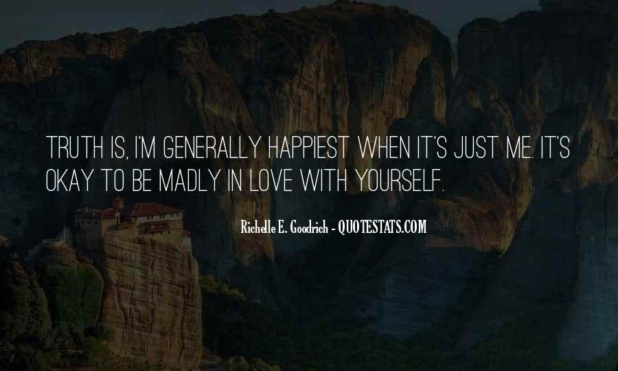 I'm Madly In Love Quotes #1853711