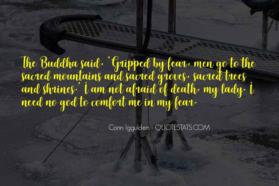 I'm Not Afraid Death Quotes #1646321