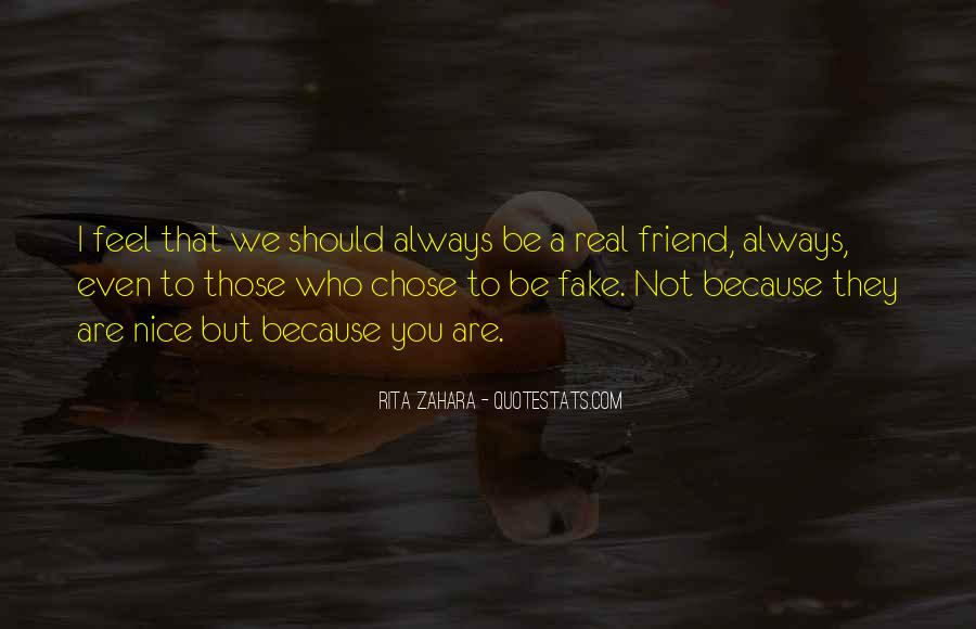 I'm Not Fake Quotes #1170834