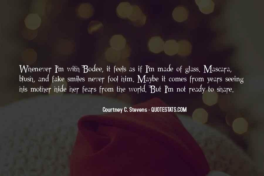 I'm Not Fake Quotes #1255025