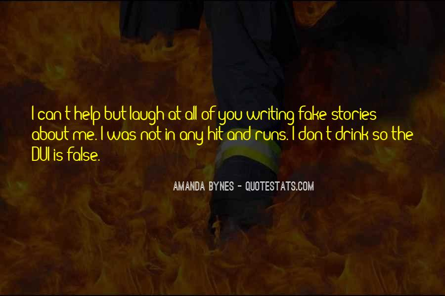 I'm Not Fake Quotes #1319486