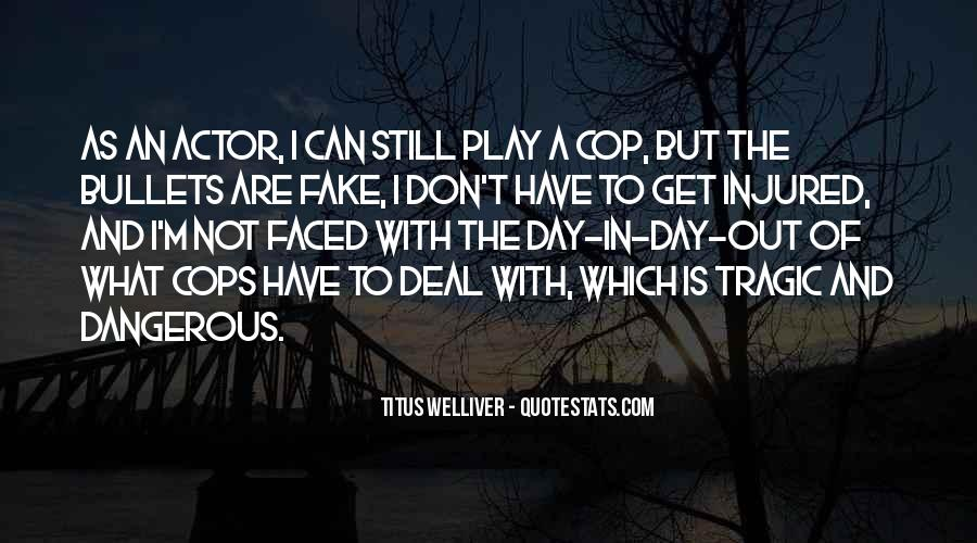 I'm Not Fake Quotes #843385
