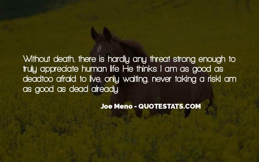 I'm Not Good Enough Him Quotes #10420