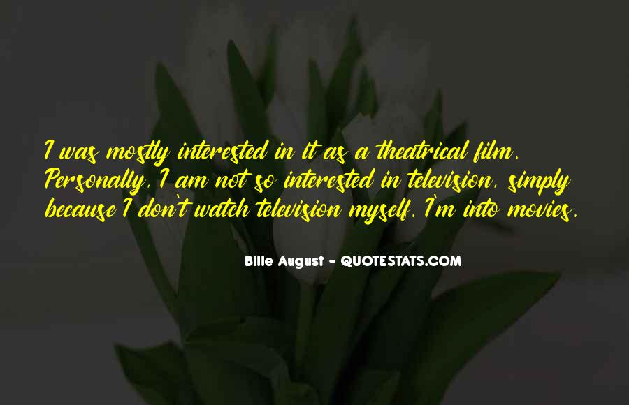 I'm Not Interested Quotes #132459