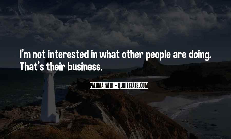 I'm Not Interested Quotes #143608