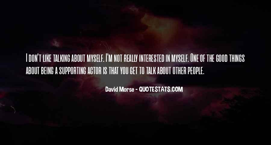 I'm Not Interested Quotes #148208