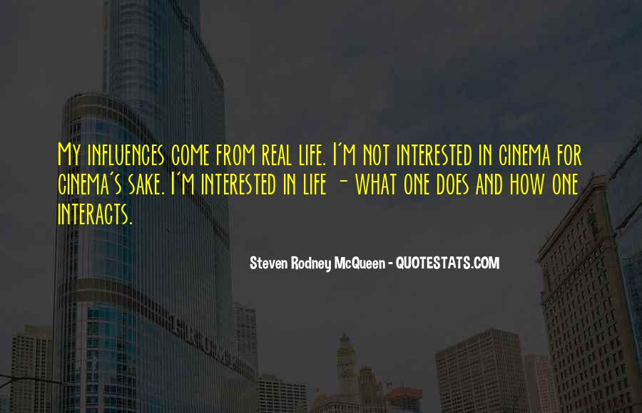 I'm Not Interested Quotes #226897