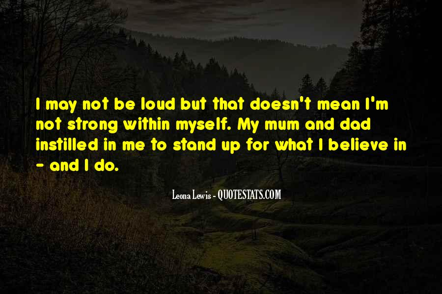 I'm Not Me Quotes #29193