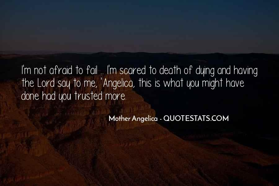 I'm Not Scared Quotes #235105