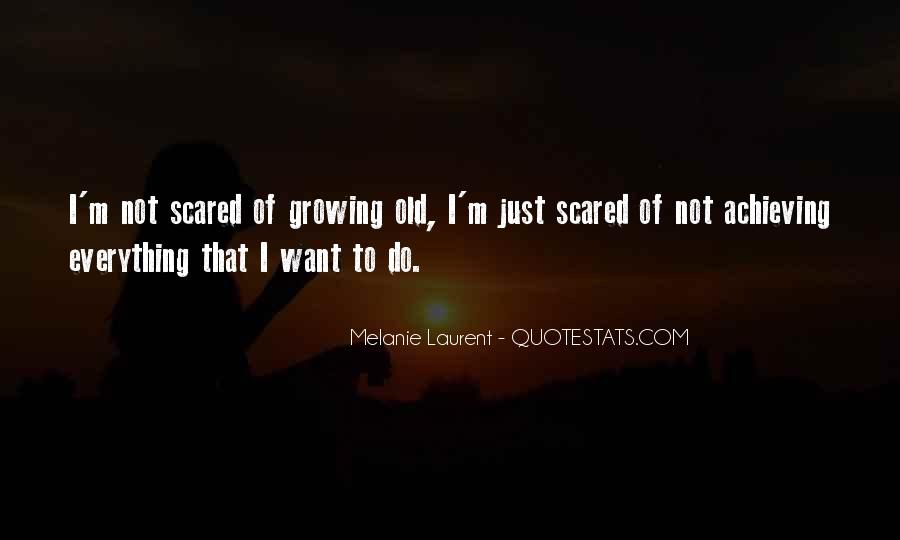 I'm Not Scared Quotes #306631