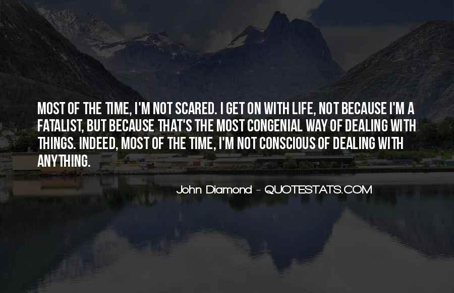 I'm Not Scared Quotes #455681