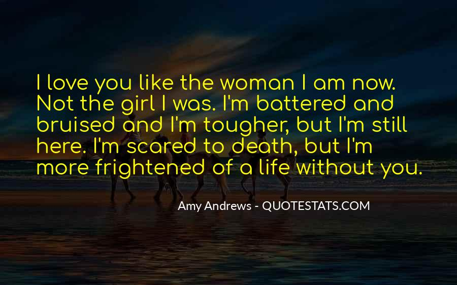 I'm Not Scared Quotes #553948