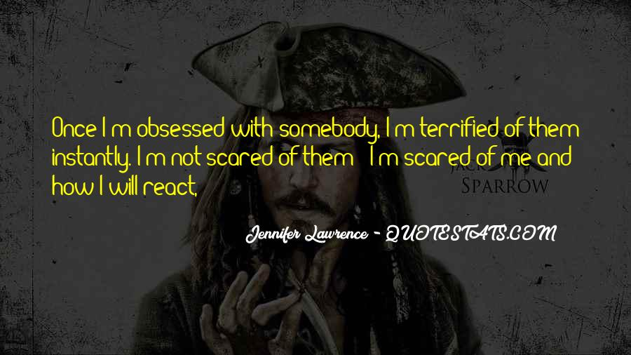 I'm Not Scared Quotes #581286