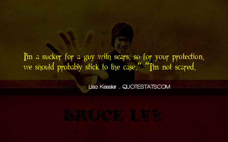 I'm Not Scared Quotes #63228