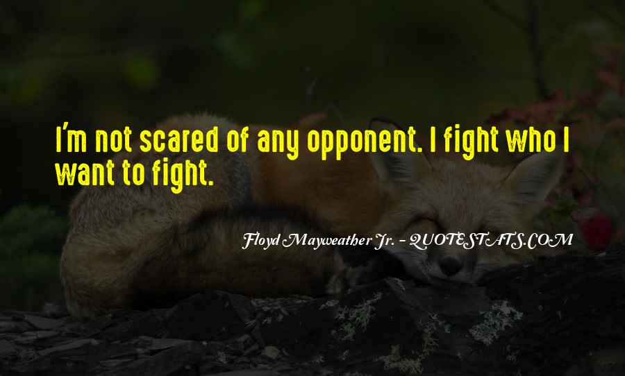 I'm Not Scared Quotes #717194