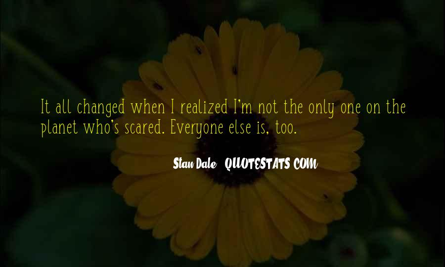 I'm Not Scared Quotes #73770