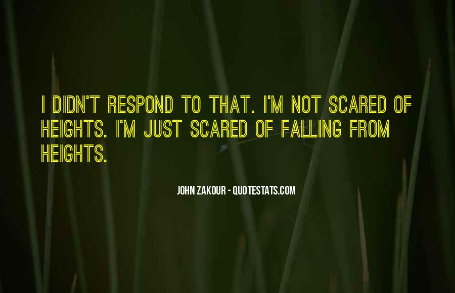 I'm Not Scared Quotes #756860