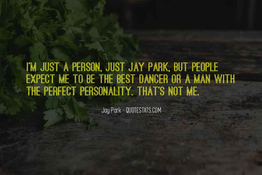I'm Not The Best Person Quotes #1743948
