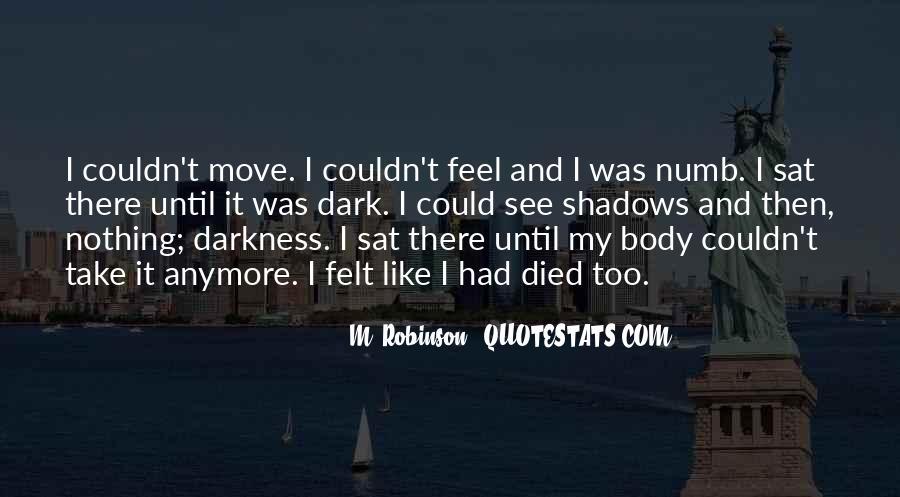 I'm Numb Quotes #1229368