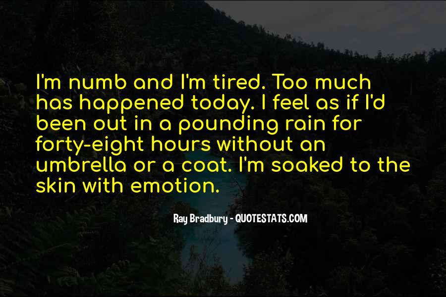 I'm Numb Quotes #1270319
