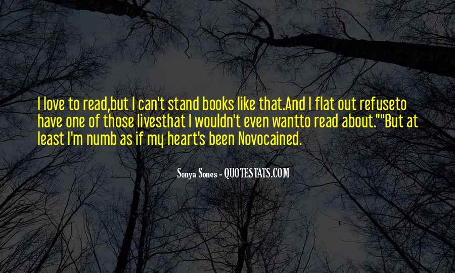 I'm Numb Quotes #1516595