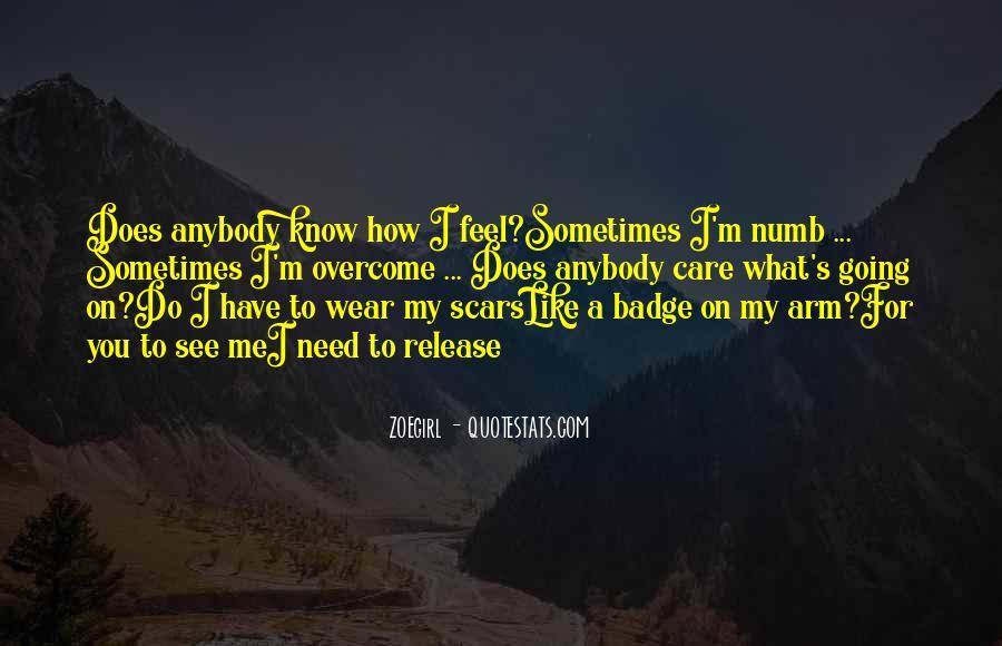 I'm Numb Quotes #1837875