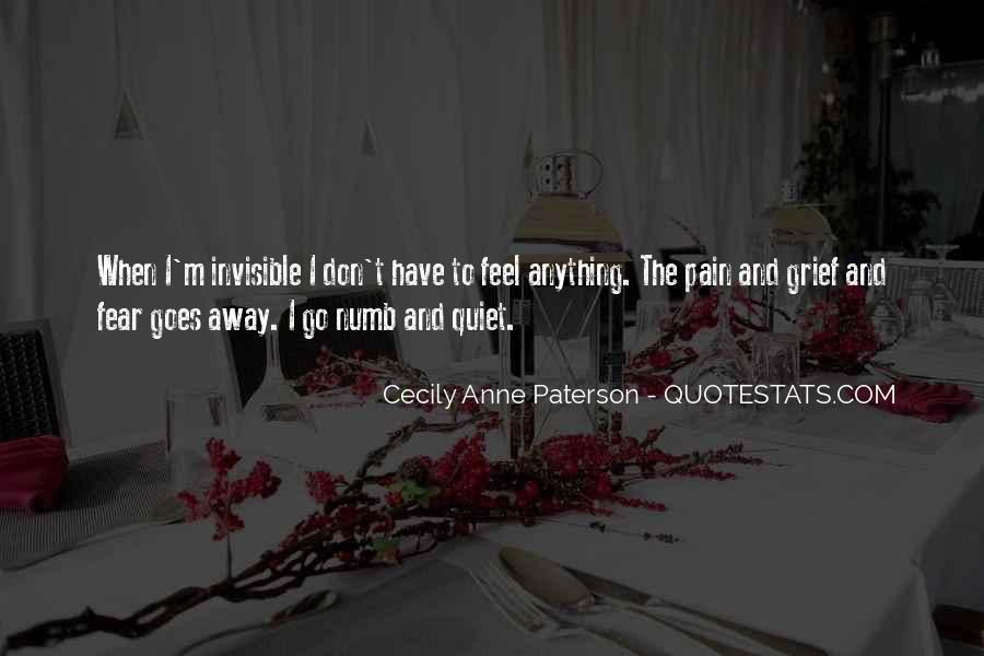 I'm Numb Quotes #18630