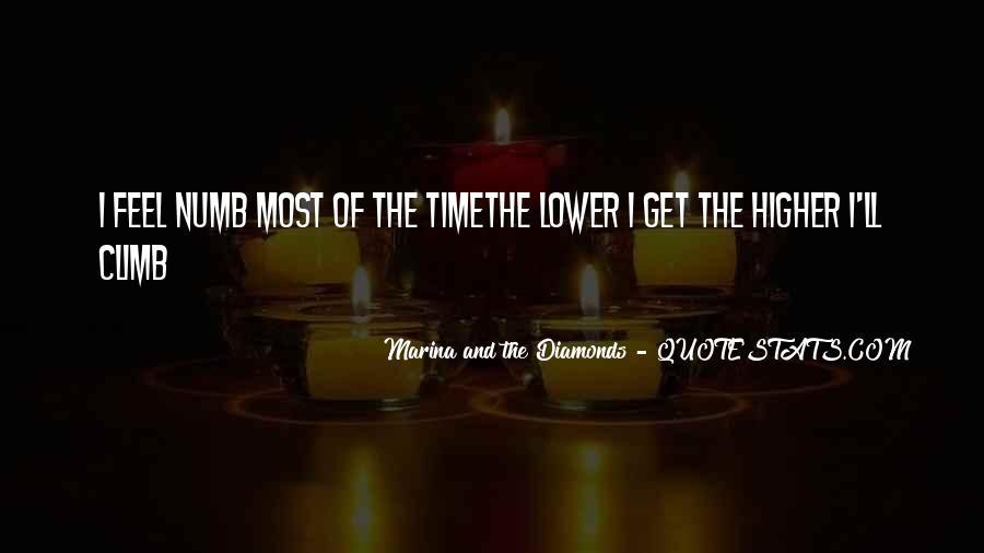 I'm Numb Quotes #233138