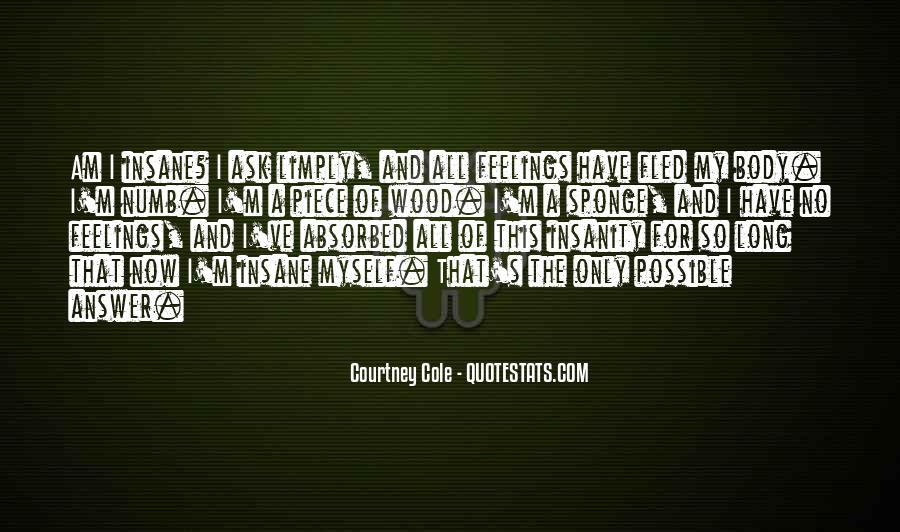 I'm Numb Quotes #312782