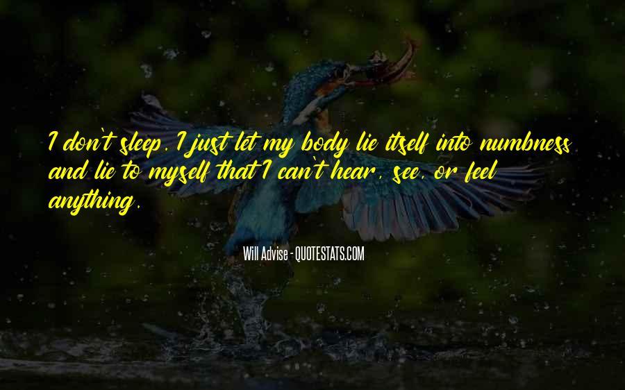 I'm Numb Quotes #361975
